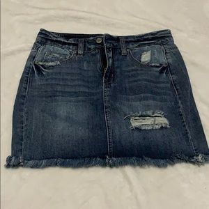 True Craft Jean Skirt Size 3